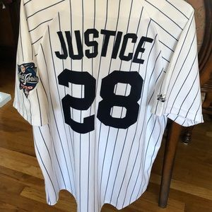 DAVID JUSTICE 2000 World Series Jersey